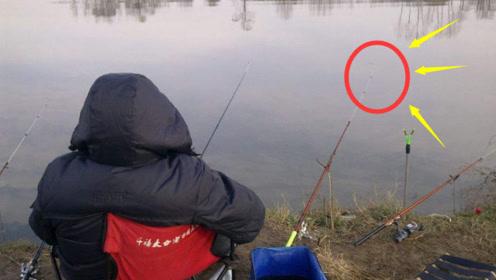 """冬季钓鲫鱼的""""3大铁律"""",一项不遵守,让你3天钓不到鱼"""