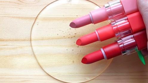 小姐姐用口红、眼影、亮片等给透泰染色,无硼砂,你喜欢哪一个