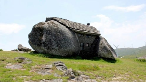 """全球最牛""""钉子户"""",城管来了都没办法,直接建在巨石中的"""