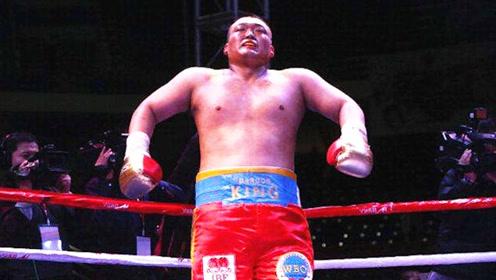 中国第一重量级拳王!拥有100%KO率传奇战绩,堪称中国泰森!