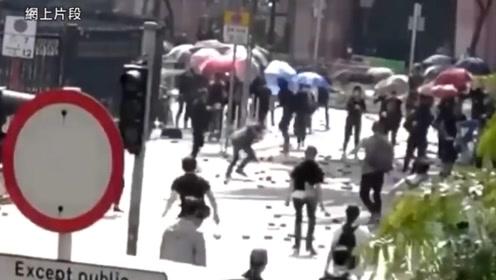 全面缉凶!香港警方悬赏80万缉拿飞砖击杀七旬清洁工暴徒