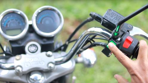 老外自制摩托车指纹解锁装置,只需一个手指就能发动车子,还能防小偷