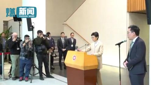 林郑月娥披露赴京述职日程 临行前代表港府向纵火暴徒说出这四个字