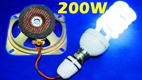简易发电机制作!