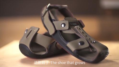 """非洲小伙发明""""会长大""""鞋子,一双能穿五年,当地的娃有福了!"""