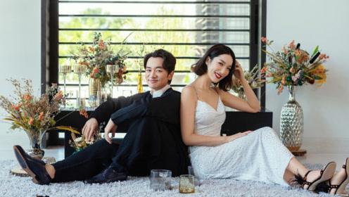 王祖蓝李亚男结婚近五年仍甜蜜如初 合体拍大片亲密依偎