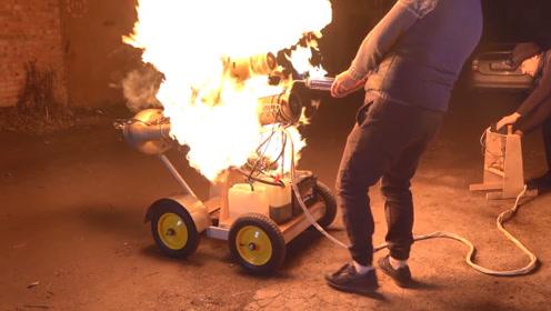怪不得涡扇发动机那么耗油,看完测试的威力我明白了