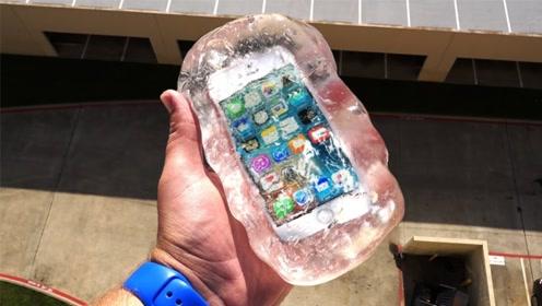 小伙把手机从100米高空扔下,液体玻璃能保护手机?网友:大跌眼镜