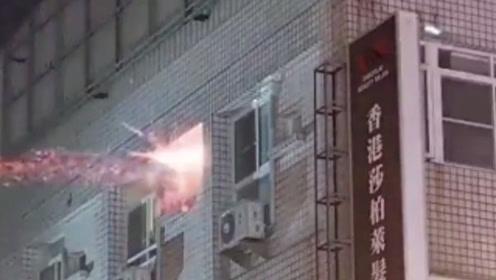 台湾一男子涉嫌国民党部放炸弹 与警方对峙交火12小时开数百枪