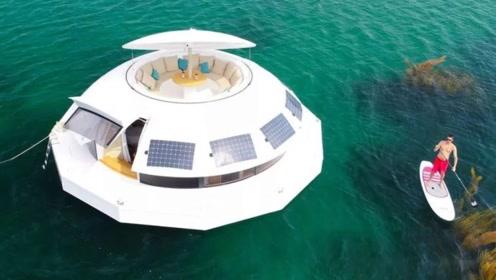 全球首家海上漂浮酒店,一半水上一半水下,网友:土豪生活就是不一样!