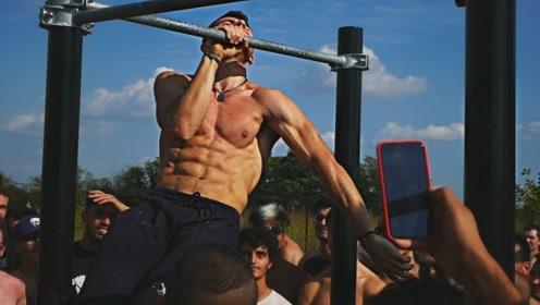 这是一群硬核兄弟!靠街头健身练出5%的体脂率,走上人生巅峰!