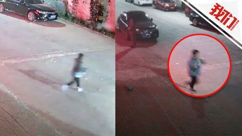 男童突然冲到马路中间被撞飞 监控拍下惊险一幕