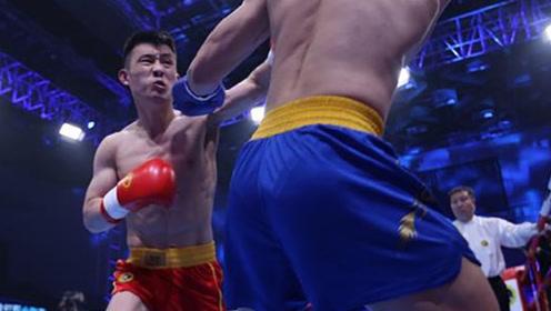 中国最硬散打人冯杰,疯狂暴击狂胜强敌!