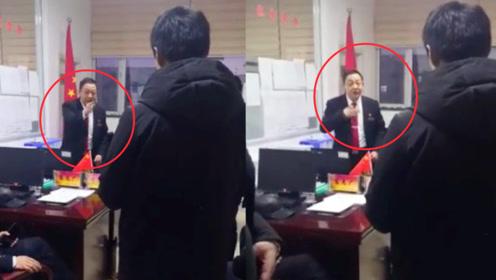 """""""拍拍良心问一问!""""实拍:信访局局长斥责企业拖欠农民工工资"""