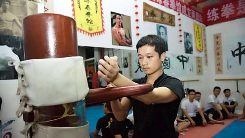 咏春的传统技术演练,练武不练功,到老一场空!