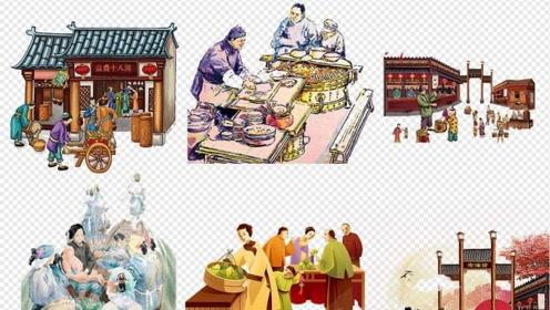 现代人的购物方式是五花八门,那么古代人又是如何购物的?