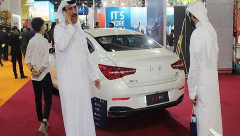 迪拜土豪车展看到600万的红旗L5,眼睛都直了!国产车的骄傲!