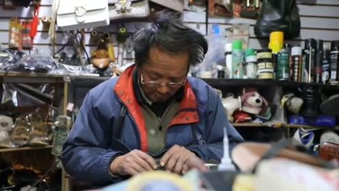 """68岁修鞋老人捐款十几年,只为还一笔""""人情债"""""""