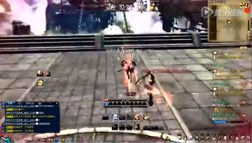 呆子解说PVP剑士视角 middot 剑士vs剑灵
