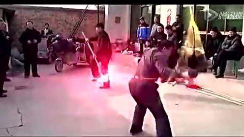 民间武术表演特效剪辑