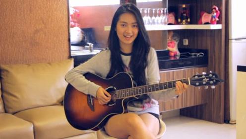 勾人魂魄的笑容,声音太干净,是泰国人吗,翻唱《Perfect》好棒