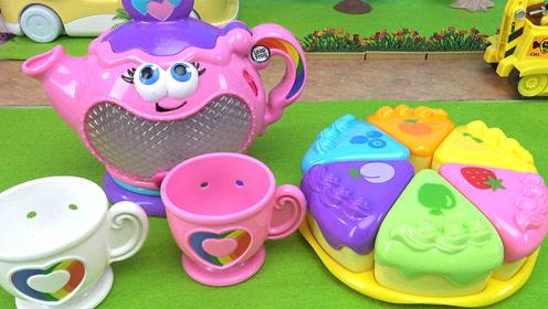 小猪佩奇会唱歌水壶蛋糕益智玩具故事