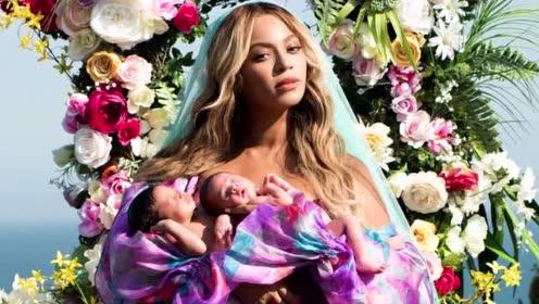 碧昂丝终于公布双胞胎照片!