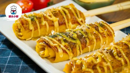 筷子也能卷大阪烧,中式餐具和日式美食的完美结合就是它!