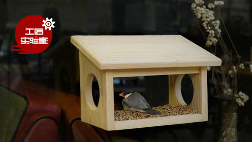 为冬季的鸟儿做一个精致温暖的玻璃鸟房吧,爱心100分!