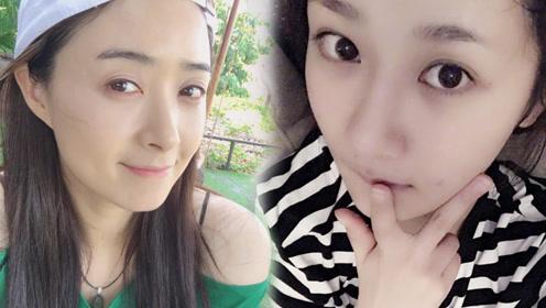 杨紫学蒋欣养眉毛 好眉形能遮小胖脸