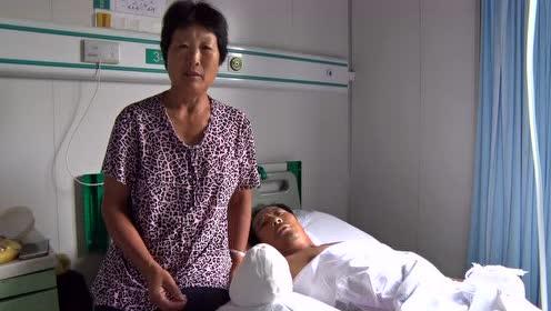 六旬老汉为养家打工意外失去双手