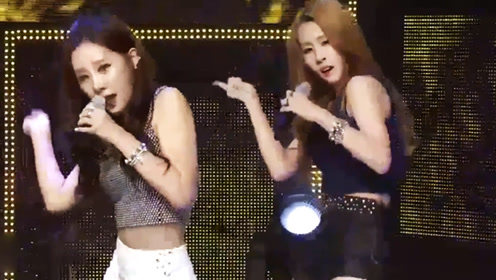 张碧晨在韩国女团时演出超性感舞姿