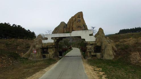 山村投资数亿元建旅游区 历时几年成烂尾工程变牧场