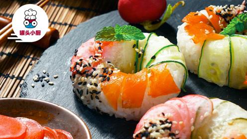 高颜值寿司甜甜圈,健身减脂党的必选