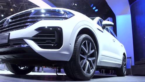 大众全新一代途锐亮相北京国际车展