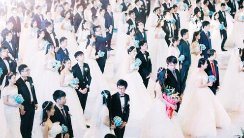 121对新人浙大办集体婚礼《海草舞》华尔兹无缝切换!