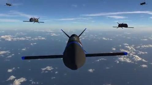 """""""空中母舰""""成真!美研新无人机由F-35投放可遥控猎杀歼-20"""