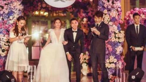 阿娇夫妇婚礼誓词感人至深 公公高度认可儿媳:会把她当女儿