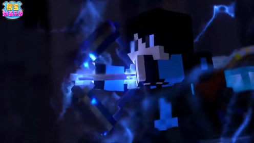 我的世界动画 为了获得神秘力量的附魔书挑战末影龙