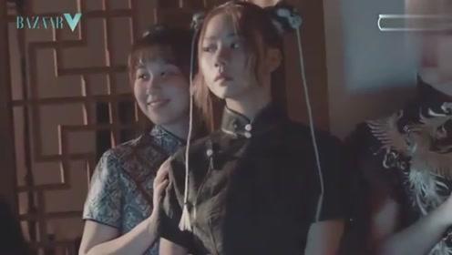 土偶VS土创的时尚芭莎短片,真是佛靠金装人靠衣装!
