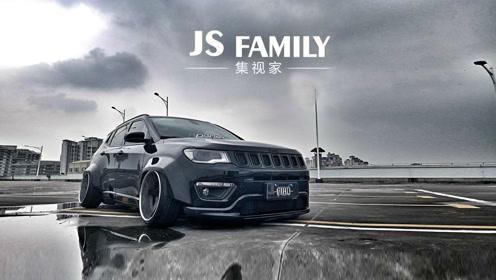 """改装展获奖低趴车型:jeep""""黑武士"""""""