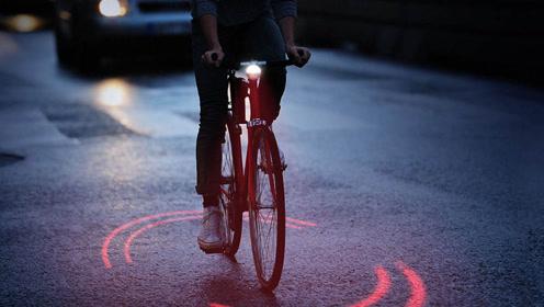 米其林发明自行车光环,可以检测距离,让汽车不敢靠近!