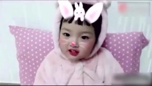 表情包女孩超萌舞蹈,一定是吃可爱多长大的!