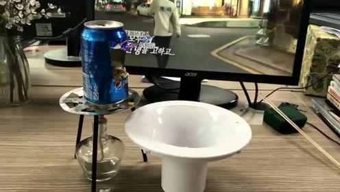 办公室小野:可乐罐爆爆米花 办公室看剧神器!
