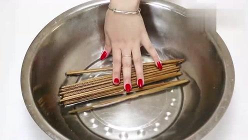 筷子脏了容易有细菌滋生?一个清理小妙招,超实用