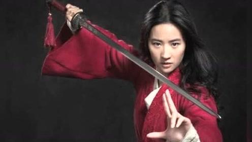 迪士尼真人版《花木兰》阵容强大 刘亦菲穿红衣帅气舞剑