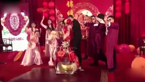 新娘喝醉后当众搞笑跳街舞!