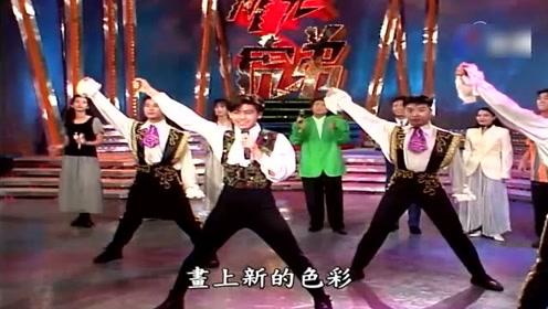 93年台湾最红偶像林志颖遇上香港最红组合草蜢,感觉林志颖被秒杀