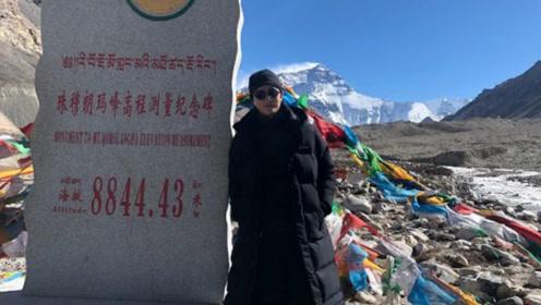跟随郭鑫年的脚步!黄轩重回高原 登上珠峰大本营