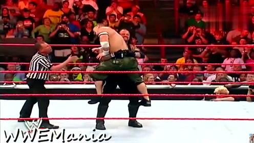 约翰塞纳vs送葬者 Raw和SD灵魂人物之间的对决